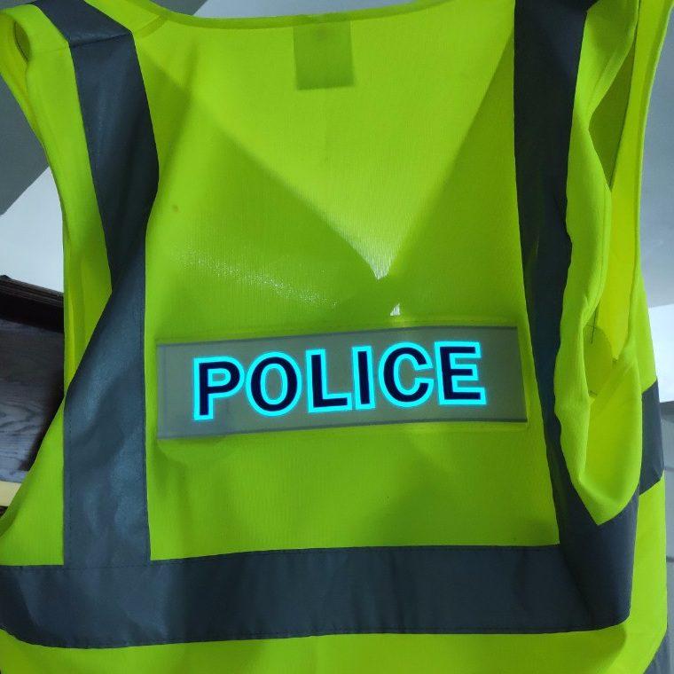 Áo bảo hộ phát sáng POLICE